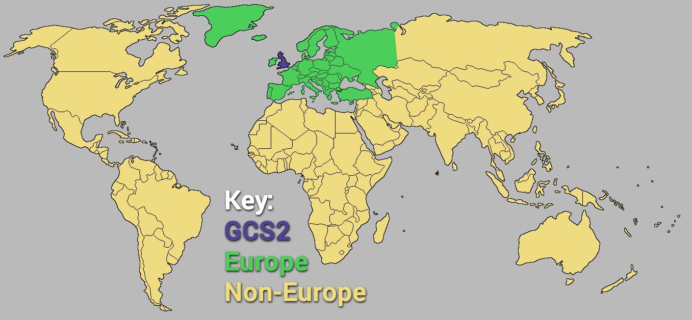 GCS Map NA